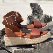 Vintage tan leather 🤩