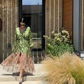 The perfect combination 💯  ¥ Dress: @hara_karakasi_boutique